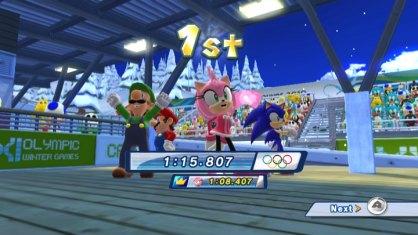 Mario y Sonic Juegos de Invierno an�lisis