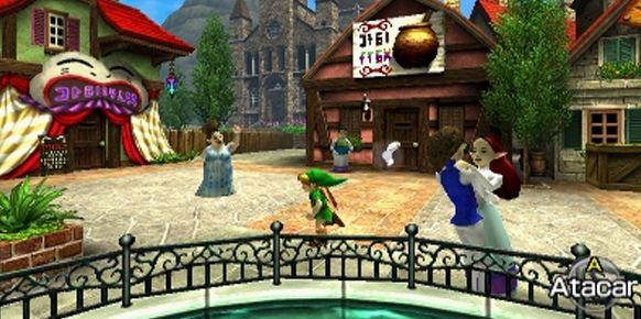 Zelda Ocarina Of Time 3ds Se Convierte En El Primer Juego De 3ds En