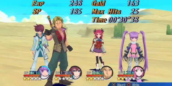 Tales of Graces F an�lisis