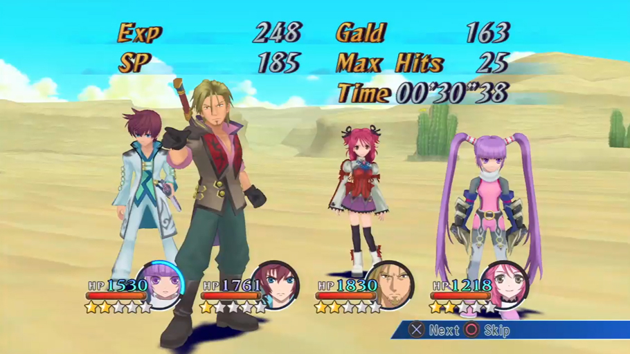 Tales of Graces F - An�lisis