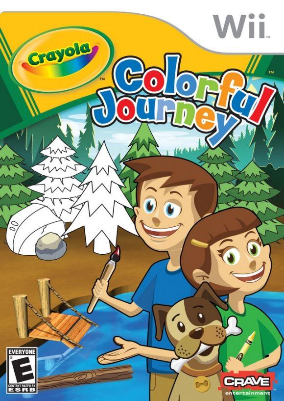Crayola Colorful Journey para Wii - 3DJuegos