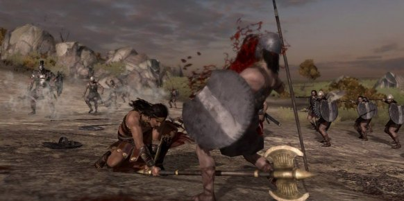 Warriors Legends of Troy: Primer contacto