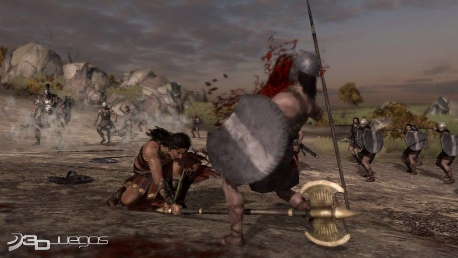 Warriors Legends of Troy - Primer contacto