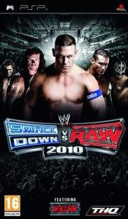 Carátula de WWE SmackDown vs. Raw 2010 - PSP
