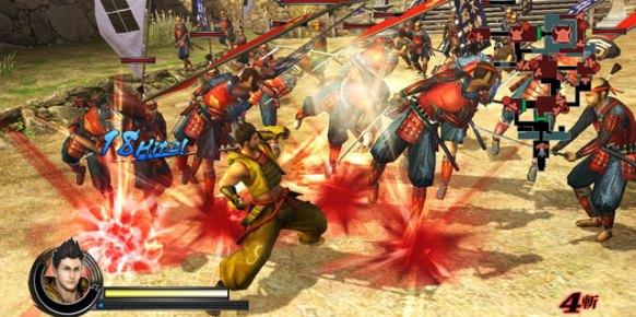 Sengoku BASARA Samurai Heroes: Impresiones jugables