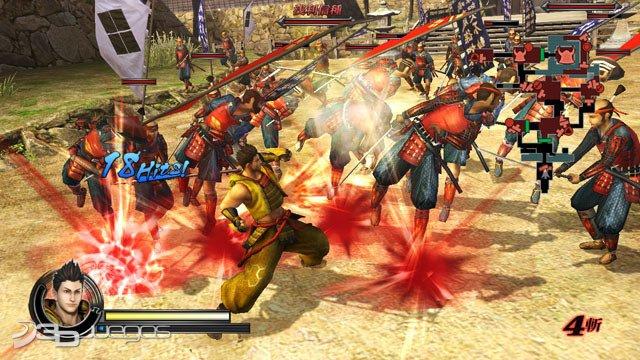 Sengoku BASARA Samurai Heroes - Impresiones jugables