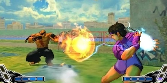 Super Street Fighter IV 3D análisis