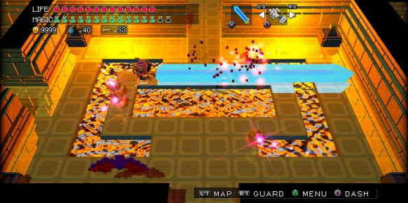 3D Dot Game Heroes PS3