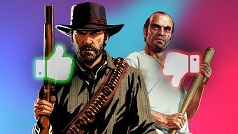 GTA 5 o Red Dead Redemption 2. ¿Cuál es el mejor videojuego reciente de Rockstar?