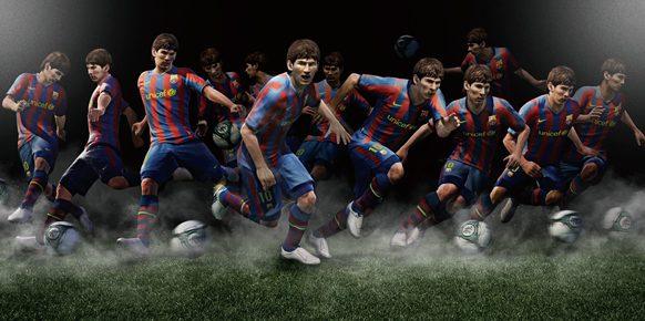 Imagen promocional de Pro Evolution Soccer 2011