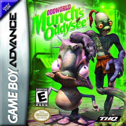 Oddworld Munch S Oddysee Para Gba 3djuegos