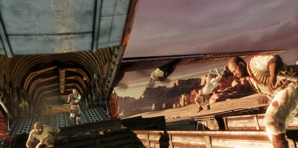 Uncharted 3: Impresiones Multijugador