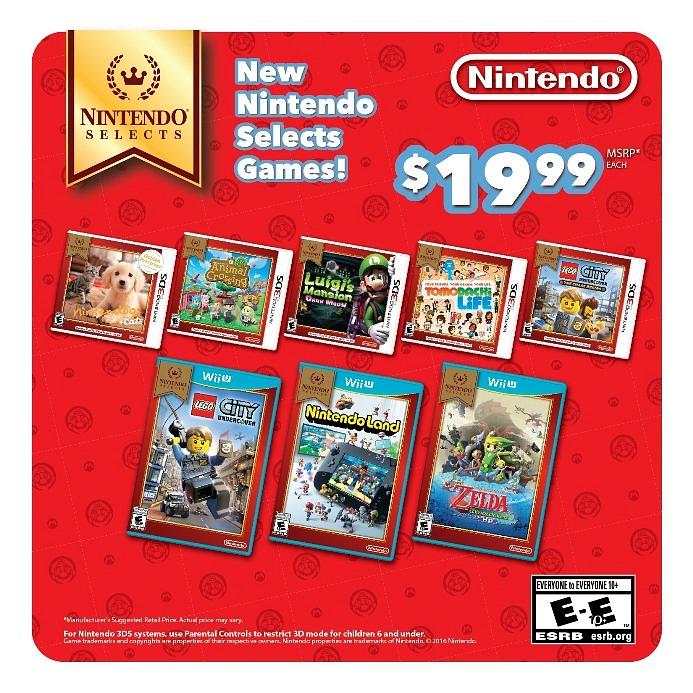 Ocho Nuevos Juegos Se Suman A La Linea Nintendo Selects En