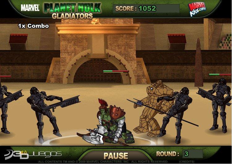 im225genes de planet hulk gladiators para web 3djuegos