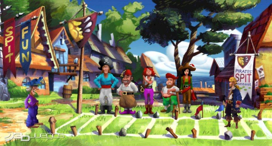 Monkey Island 2 Edición Especial - Primer contacto