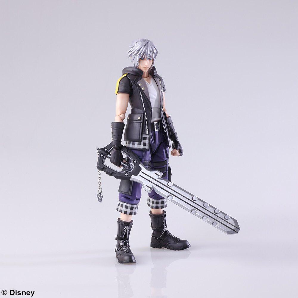 Square Enix presenta la primera figura de Riku en Kingdom Hearts 3