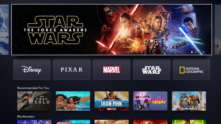 Disney+ ya tiene fecha de lanzamiento en PS4 y Xbox One para España