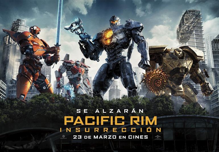 Gana un pack de regalos de la película Pacific Rim: Insurrección