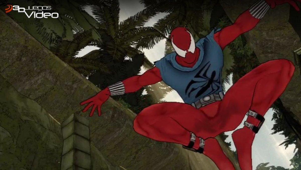 Spider man shattered dimensions scarlet spider