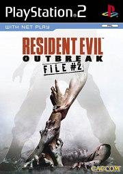 Carátula de Resident Evil: Outbreak File 2 - PS2