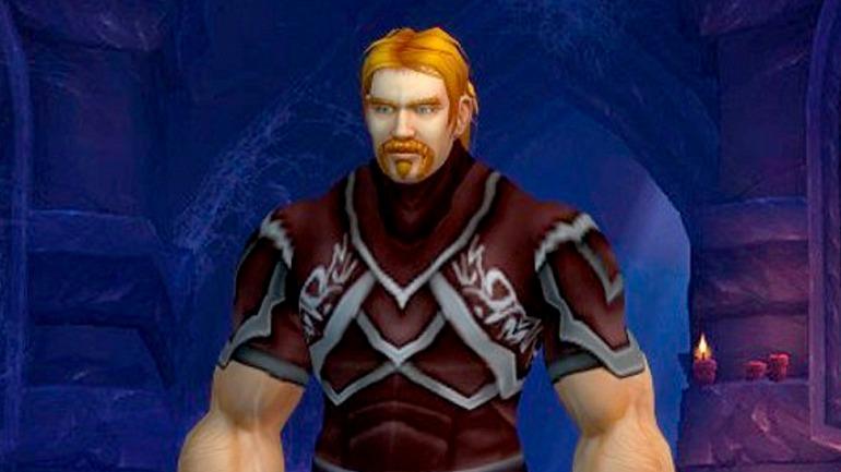 Lord Ibelin Redmoore, el personaje de Mats en World of Warcraft. Imagen: NRK.