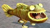 Raving Rabbids Regreso al Pasado: Gameplay: El Buen Pescador