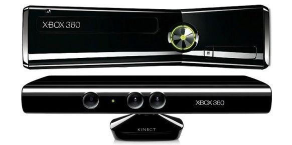 Xbox 360 Slim y Kinect