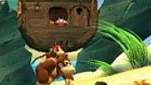 Donkey Kong Country Returns: Gameplay: Simios en la Playa