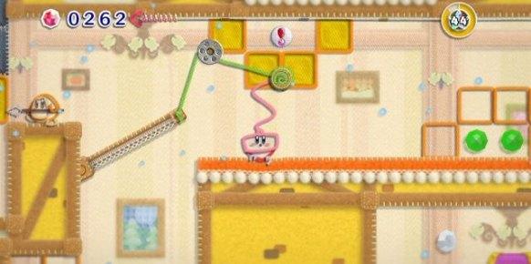 Kirby's Epic Yarn an�lisis