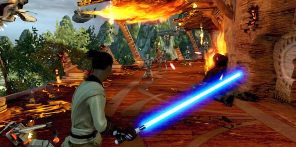 Star Wars Kinect an�lisis