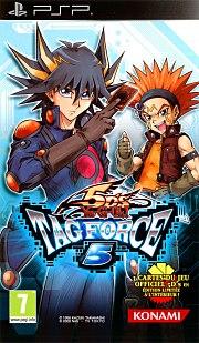 Carátula de Yu-Gi-Oh! 5D's Tag Force 5 - PSP