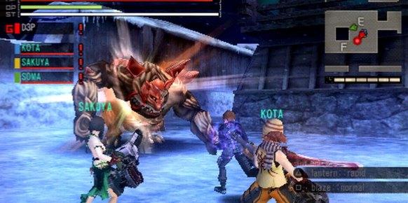 God Eater Burst PSP
