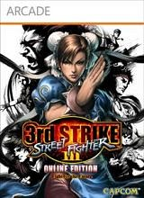 Carátula de Street Fighter III: 3rd Strike Online - Xbox 360