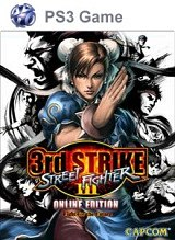 Carátula de Street Fighter III: 3rd Strike Online - PS3