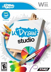 Carátula de uDraw Studio - Wii