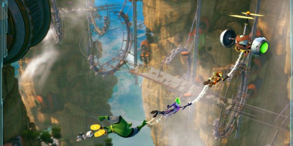 Ratchet & Clank Todos para Uno