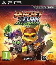 Carátula de Ratchet & Clank: Todos para Uno - PS3