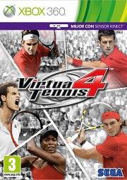 Carátula de Virtua Tennis 4 - Xbox 360