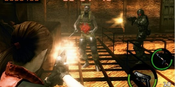 Resident Evil Mercenaries 3D 3DS