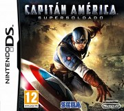 Carátula de Capitán América: Super Soldier - DS
