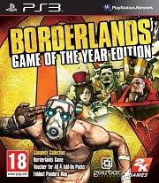Carátula de Borderlands: Game of the Year - PS3