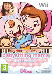 Carátula de Cooking Mama World: Babysitting - Wii