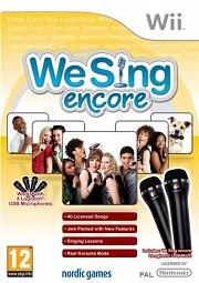Carátula de We Sing: Encore - Wii