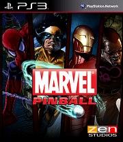 Carátula de Marvel Pinball - PS3