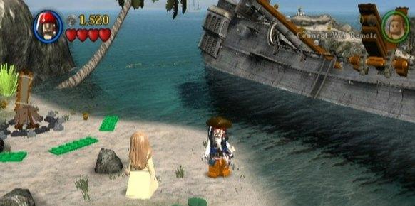 LEGO Piratas del Caribe Wii