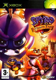 Carátula de Spyro: A Hero's Tail - XBOX