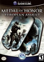 Carátula de Medal of Honor: European Assault - GC