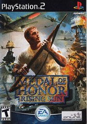 Carátula de Medal of Honor: Rising Sun - PS2