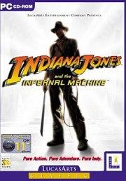 Carátula de Indiana Jones and the Infernal Machine - PC