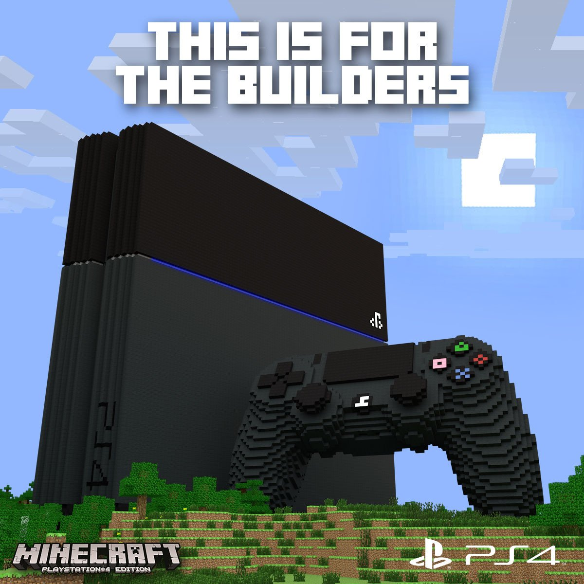 Four The Best Building: Minecraft Para PS4